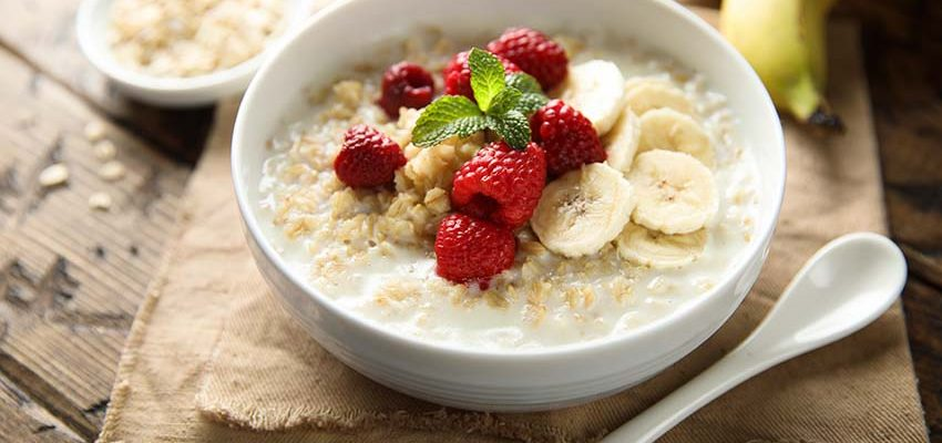nutritious oatmeal breakfast for seniors